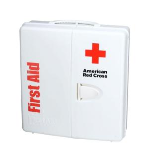 First Aid Only 194-Piece Large Food Industry First Aid Kit Smart Compliance Cabinet with... by First Aid Only