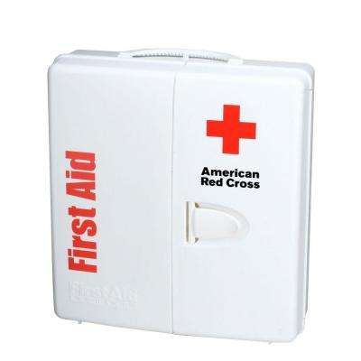 194-Piece Large Food Industry First Aid Kit Smart Compliance Cabinet with Handle