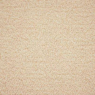Carpet Sample - Tranquility - Color Ivory Lace Texture 8 in. x 8 in.
