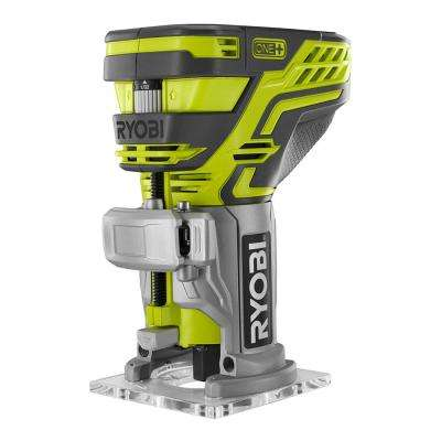 18-Volt ONE+ Cordless Fixed Base Trim Router (Bare-Tool) with Tool Free Depth Adjustment