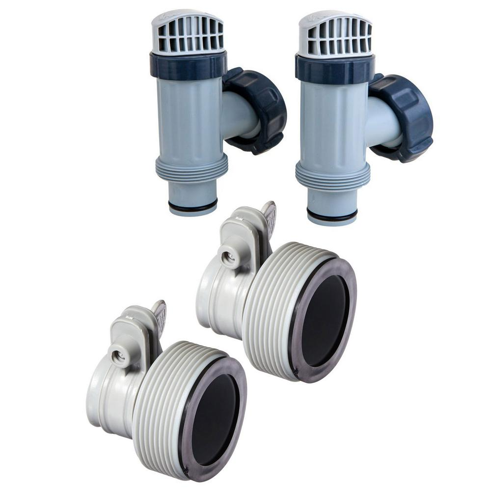 Intex Above Ground Plunger Valves With Gaskets And Nuts