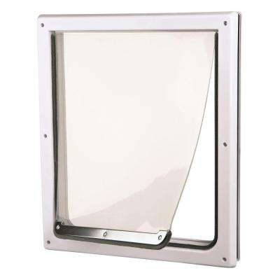 8.75 in. x 11.5 in. Small/Medium 2-Way Dog Door
