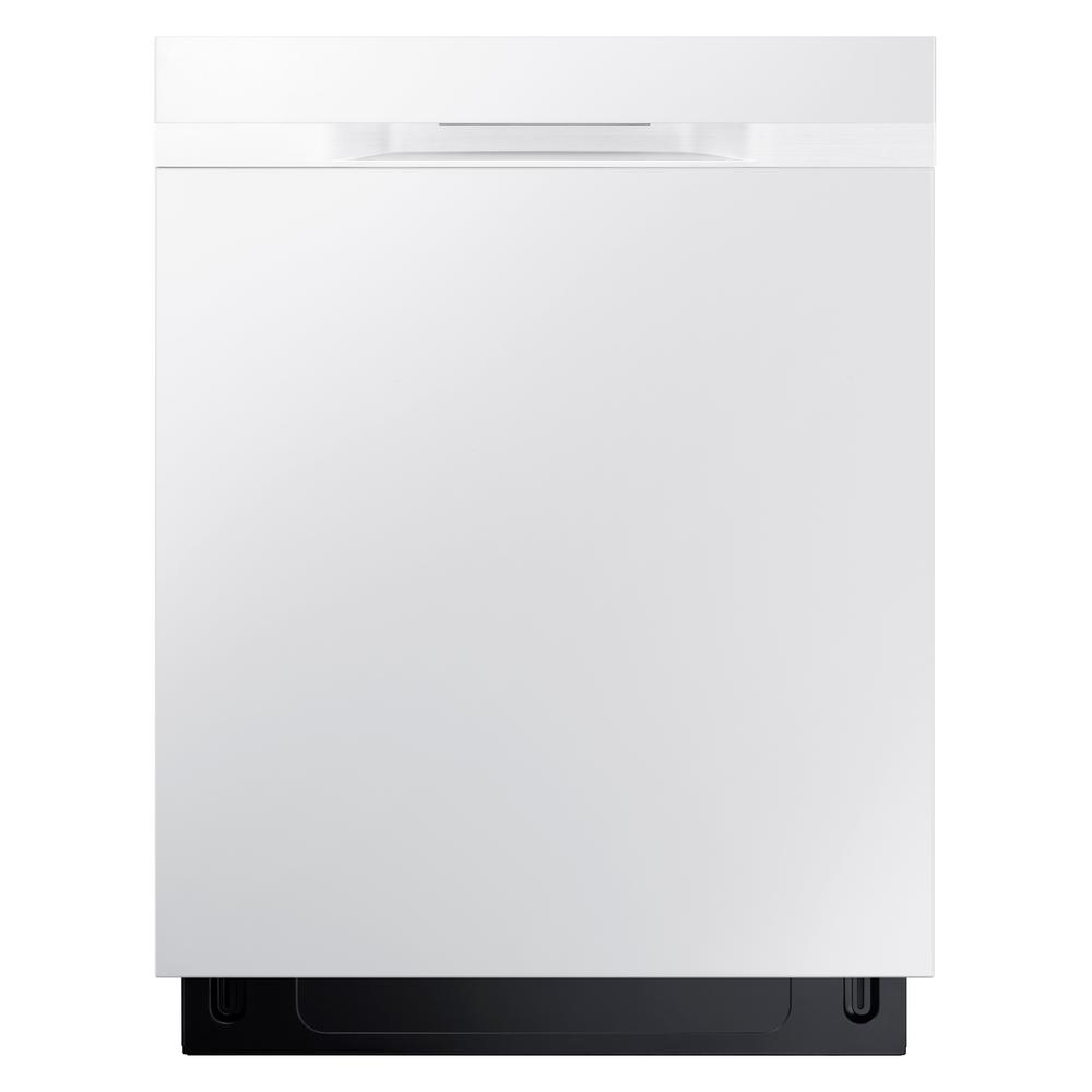 StormWash Top Control Dishwasher in White with Stainless Steel Tub and