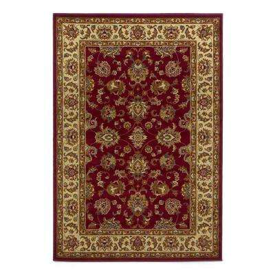 Imperial Traditions Red 3 ft. 11 in. x 5 ft. 3 in. Area Rug