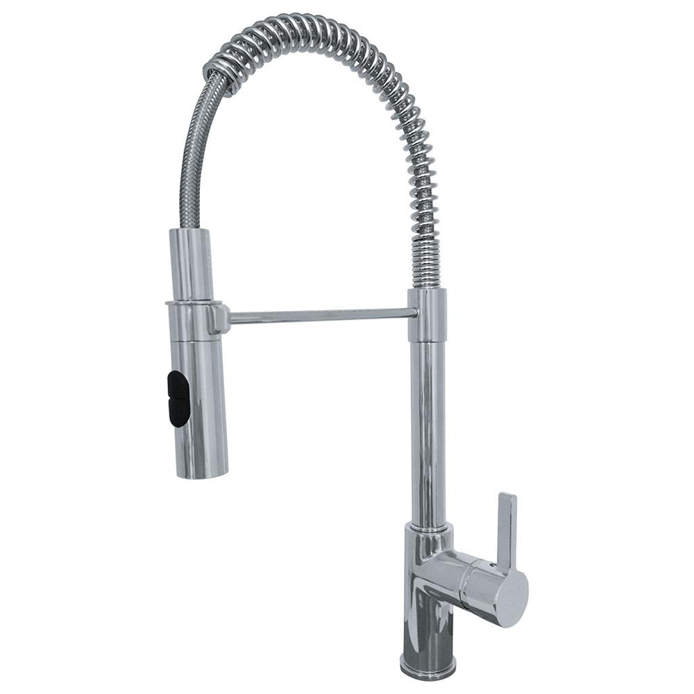 Franke Fuji Single Handle Pull Down Sprayer Kitchen Faucet With Fast In Quick Install System In