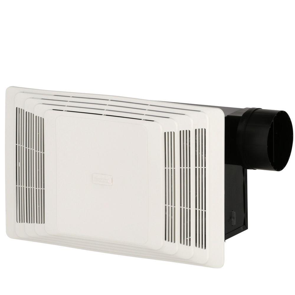 Broan 70 CFM Ceiling Bathroom Exhaust Fan Heater Bath ...