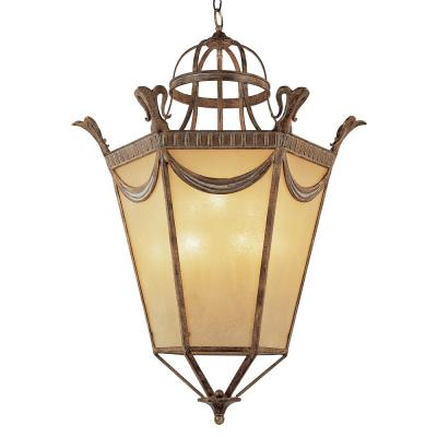 Artisan 40 in. 9-Light Bronze Indoor Pendant