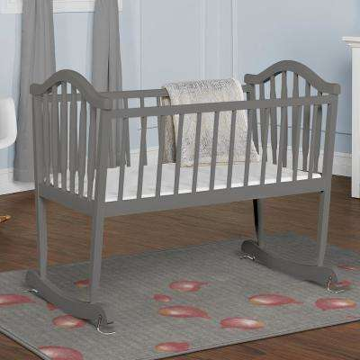 Steel Grey Rocking Cradle