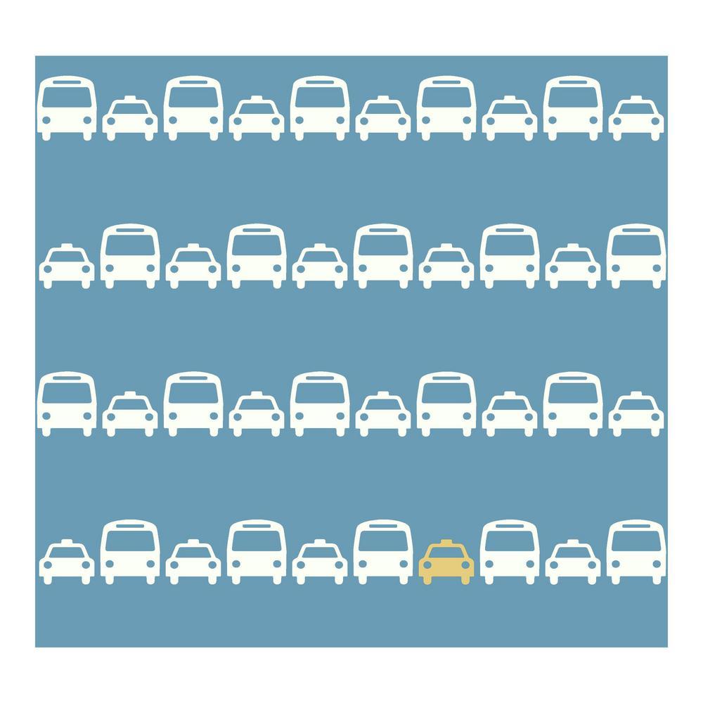 DwellStudio Baby and Kids Transportation Wallpaper
