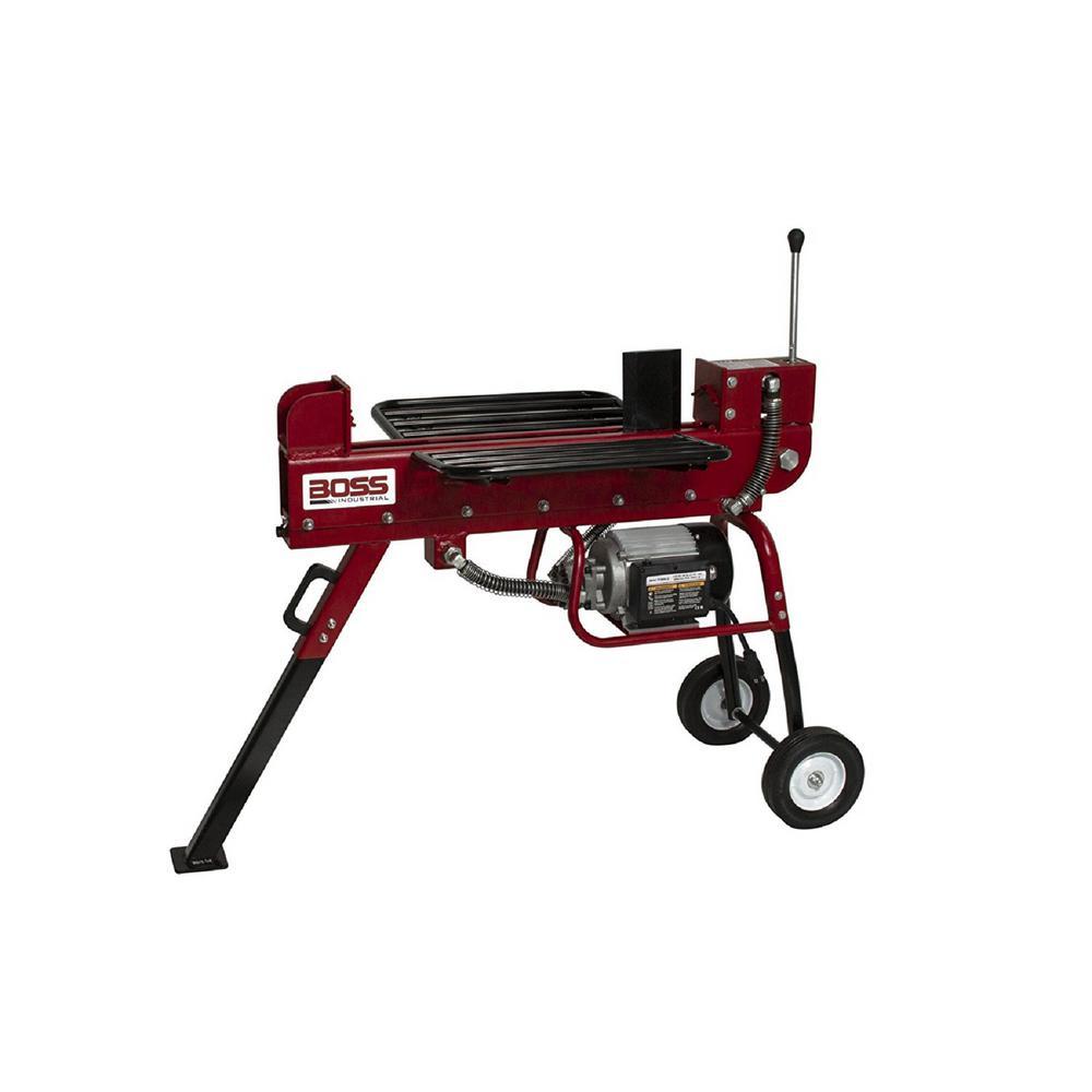 10-Ton 15 Amp Electric Log Splitter
