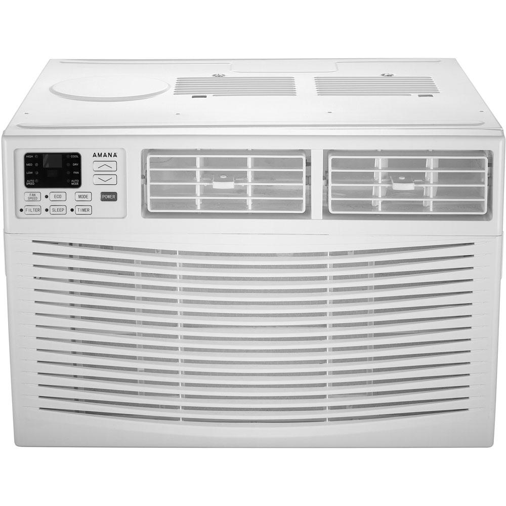 Amana 18,000 BTU Window Air Conditioner With Dehumidifier And  Remote AMAP182BW   The Home Depot