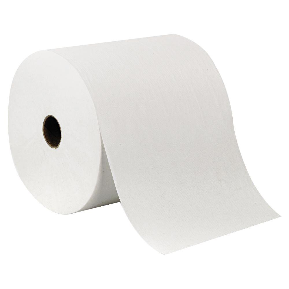 Envision White High Capacity Non-Perforated Roll Paper Towels (6 Rolls/Carton)