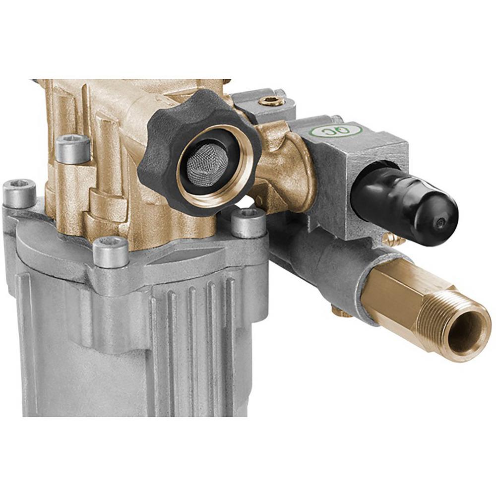 Horizontal Brass 3100-PSI Maximum Pressure Washer Pump