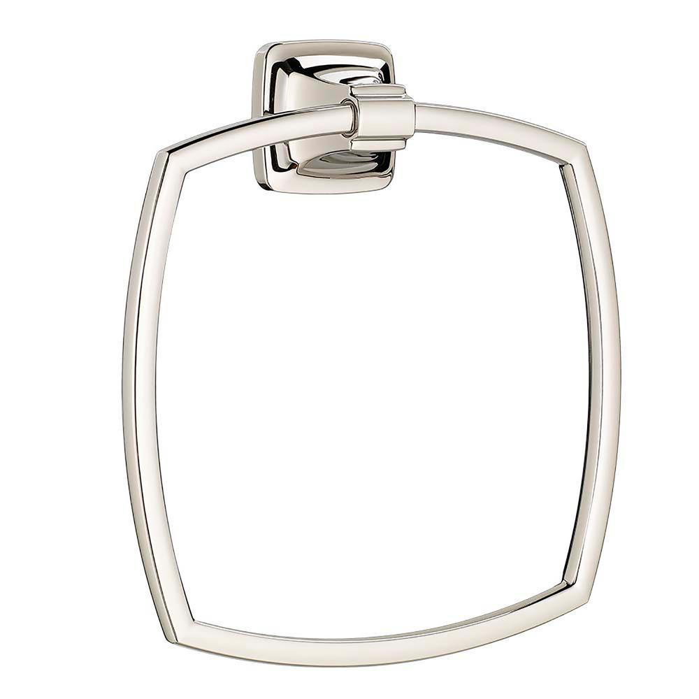 Townsend Towel Ring in Polished Nickel