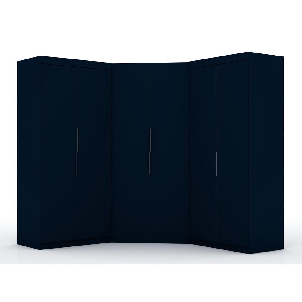 Ramsey 3.0 Tatiana Midnight Blue Sectional Corner Closet (Set of 3)