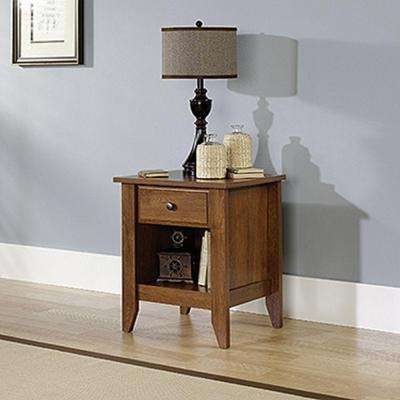 Shoal Creek 1-Drawer Oiled Oak Nightstand
