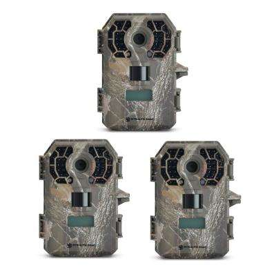 HD Video Infrared No Glow Hunting Scouting Game Trail Camera (3-Pack)