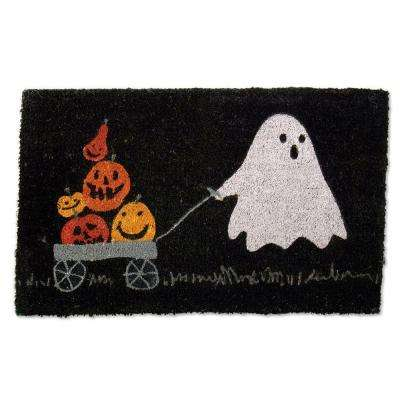 Pumpkin Parade 18 in. x 30 in. Coir Mat