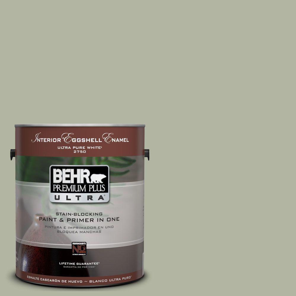 BEHR Premium Plus Ultra 1-Gal. #UL210-6 Environmental Interior Eggshell Enamel Paint