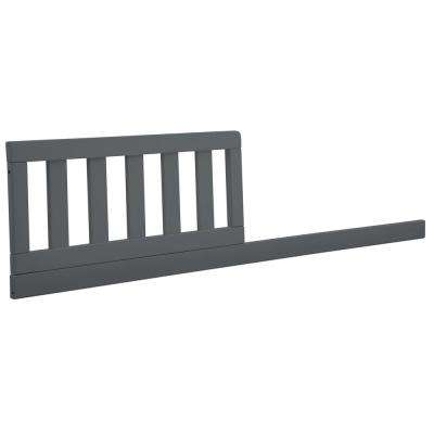 Charcoal Grey Crib Size Daybed Toddler Guardrail Kit