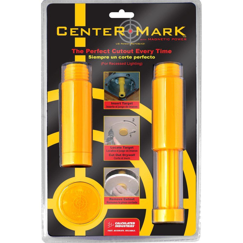 Center Mark Drywall Recessed Light Fixture Locator Tool Kit (3-Piece)