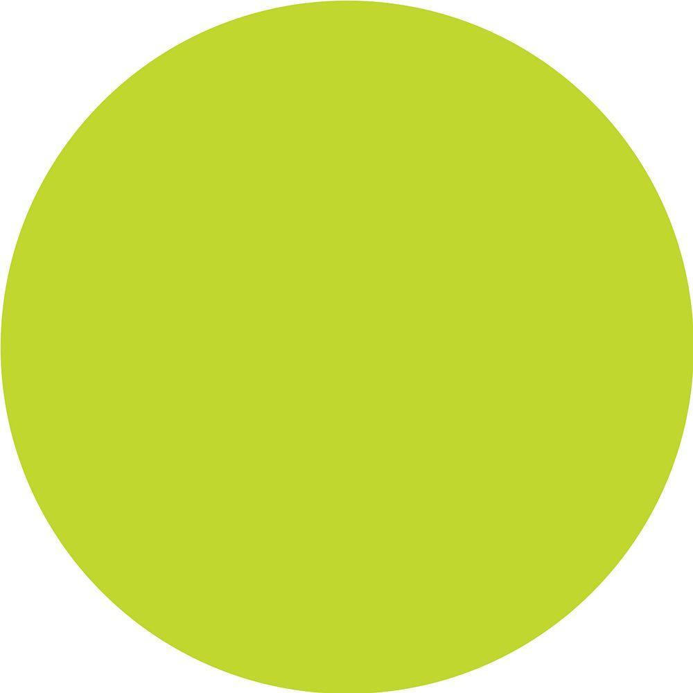 WallPOPs 13 in. x 13 in. Stylin Green Dot 10-Piece Wall Decal ...