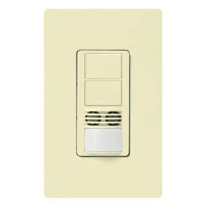 Maestro 6-Amp 3-Way Dual-Circuit Dual-Tech Occupancy Sensor Switch - Almond