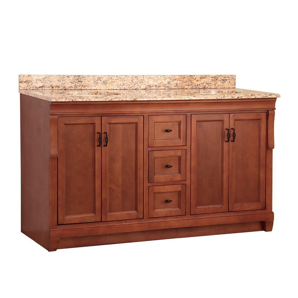 bathroom double sink cabinets. D Double Bath Vanity 59 61 in  Bathroom Vanities The Home Depot