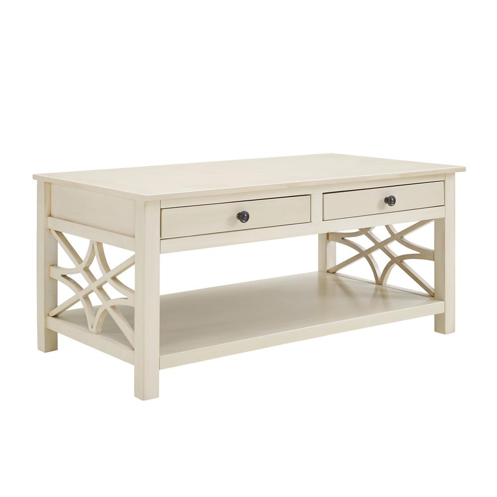 Sloane Antique White Coffee Table