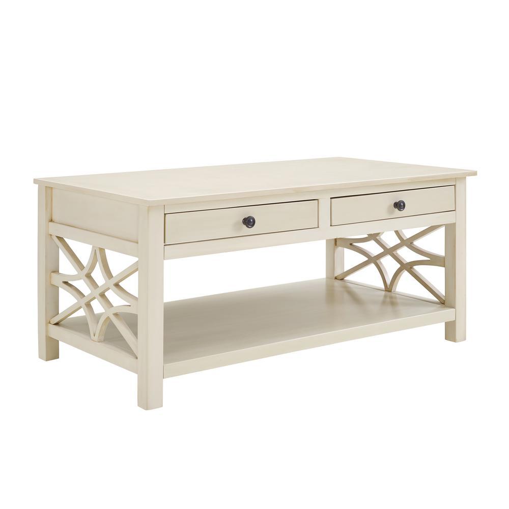 Sloane Antique White Coffee Table