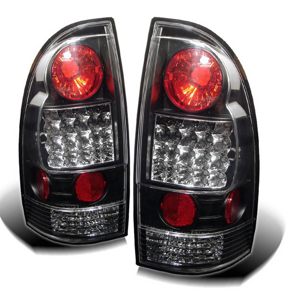 Car Tail Lights >> Spyder Auto Toyota Tacoma 05 15 Led Tail Lights Not Compatible With Factory Equipped Led Tail Lights Black