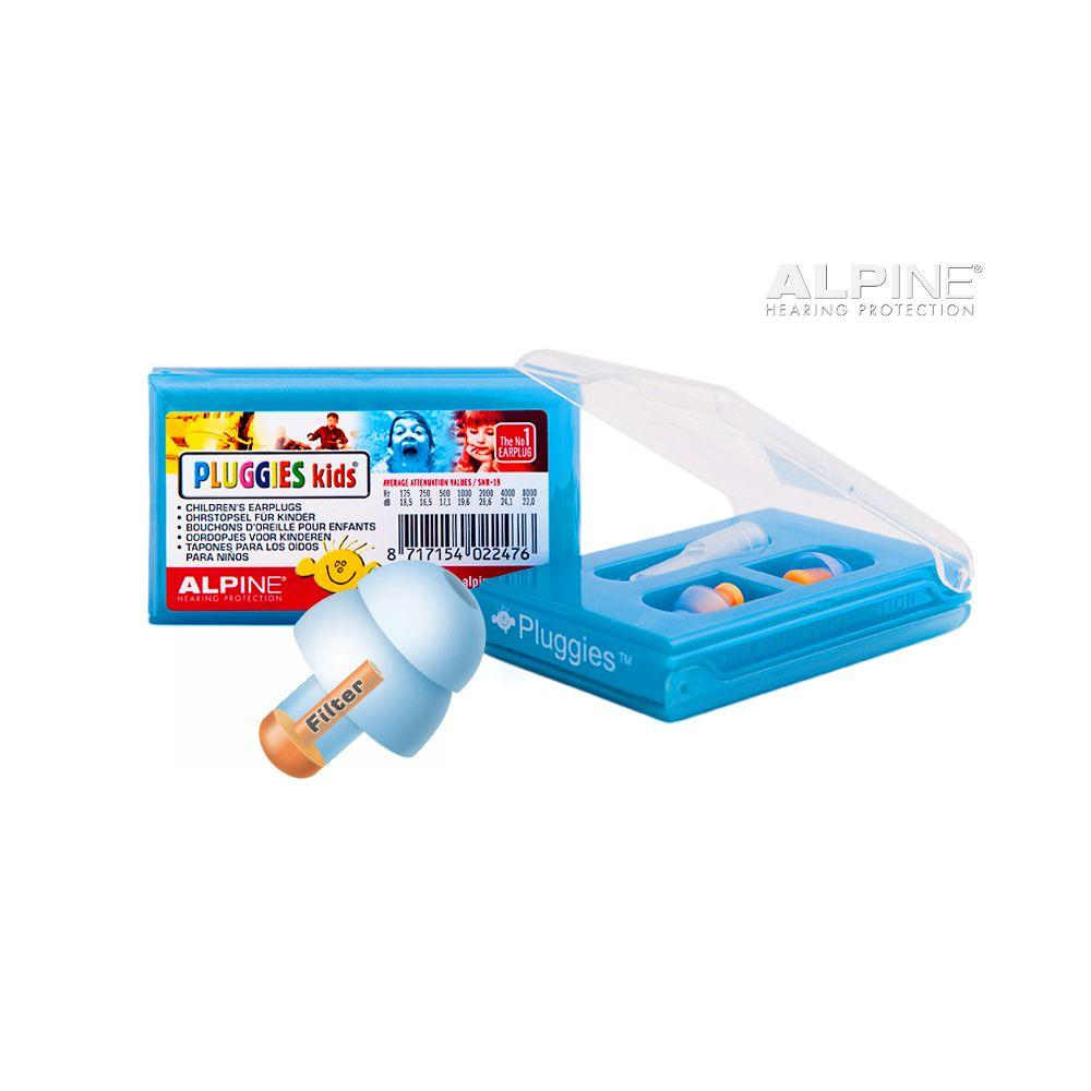 Alpine Pluggies Kids Swim Earplugs