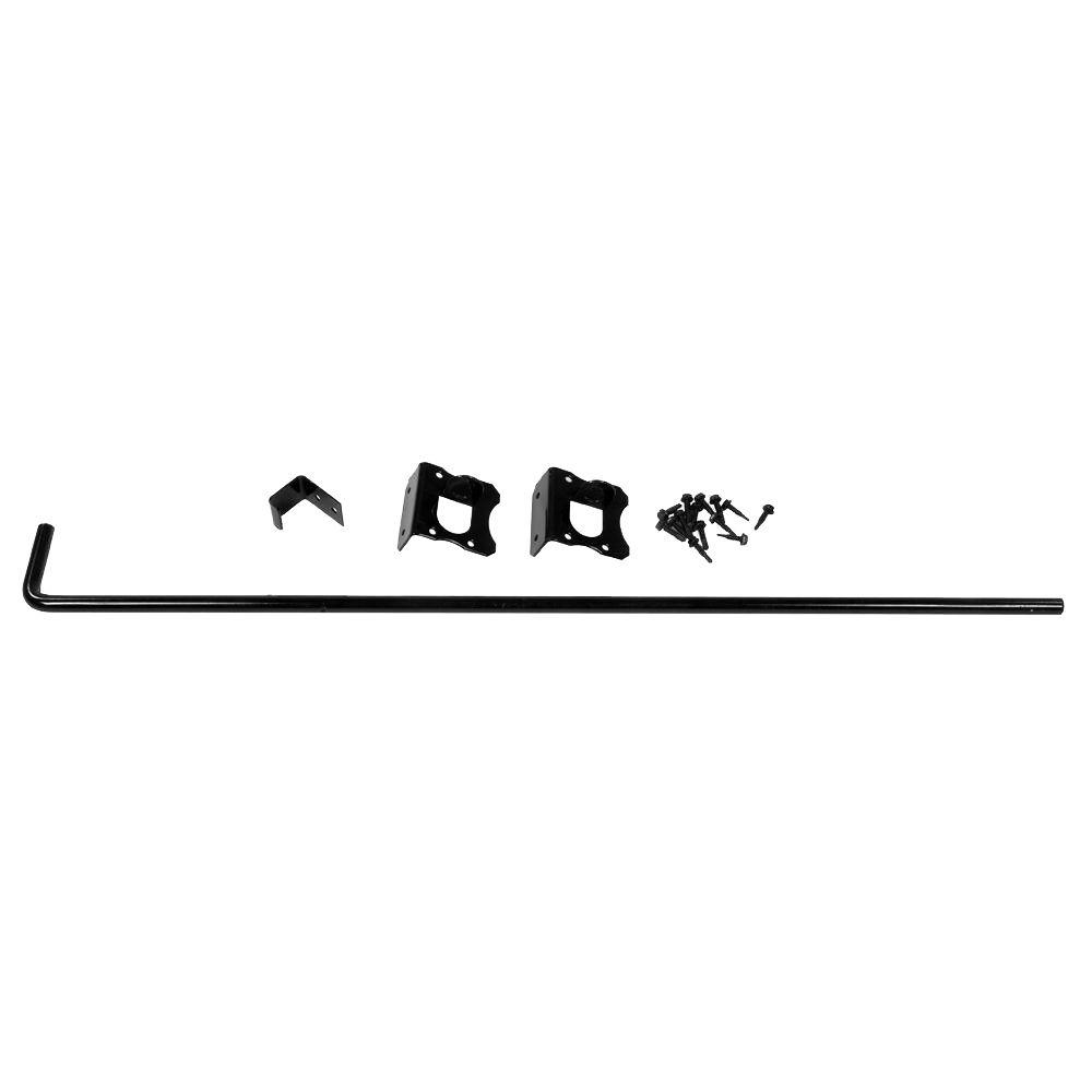 Veranda 36 in. Black Stainless Steel Vinyl Fence Drop Rod