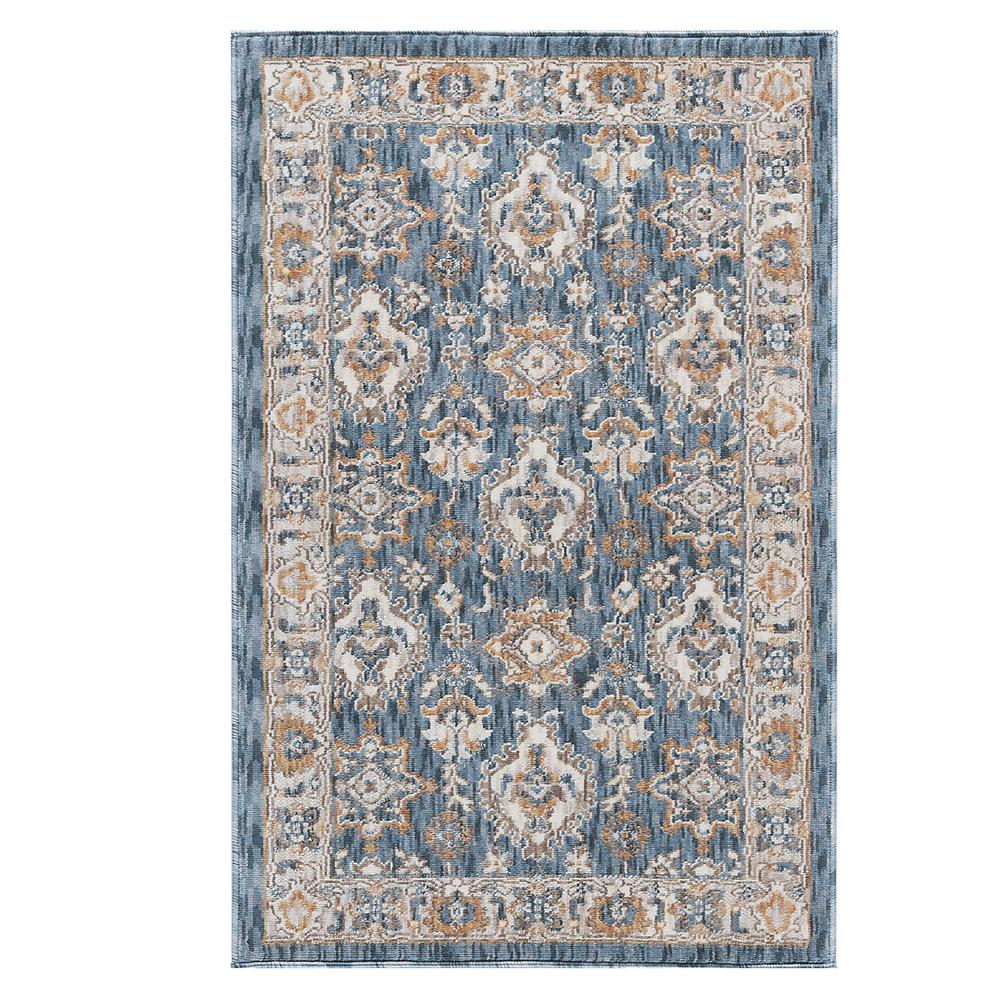 tayse rugs milan blue 2 ft. x 3 ft. accent rug-mln4506 2x3 - the