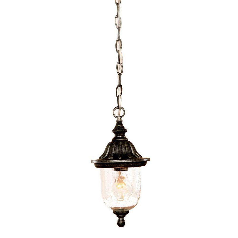 Acclaim Lighting Builder's Choice Collection Hanging Outdoor Stone Light Fixture