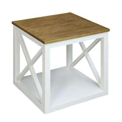 Botana White Side Table