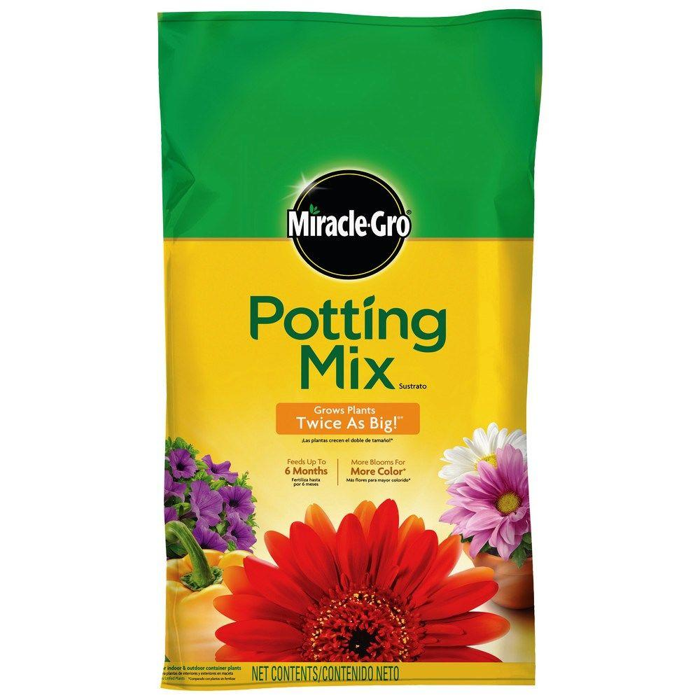 Miracle Gro 64 Qt Potting Mix 75664300 The Home Depot