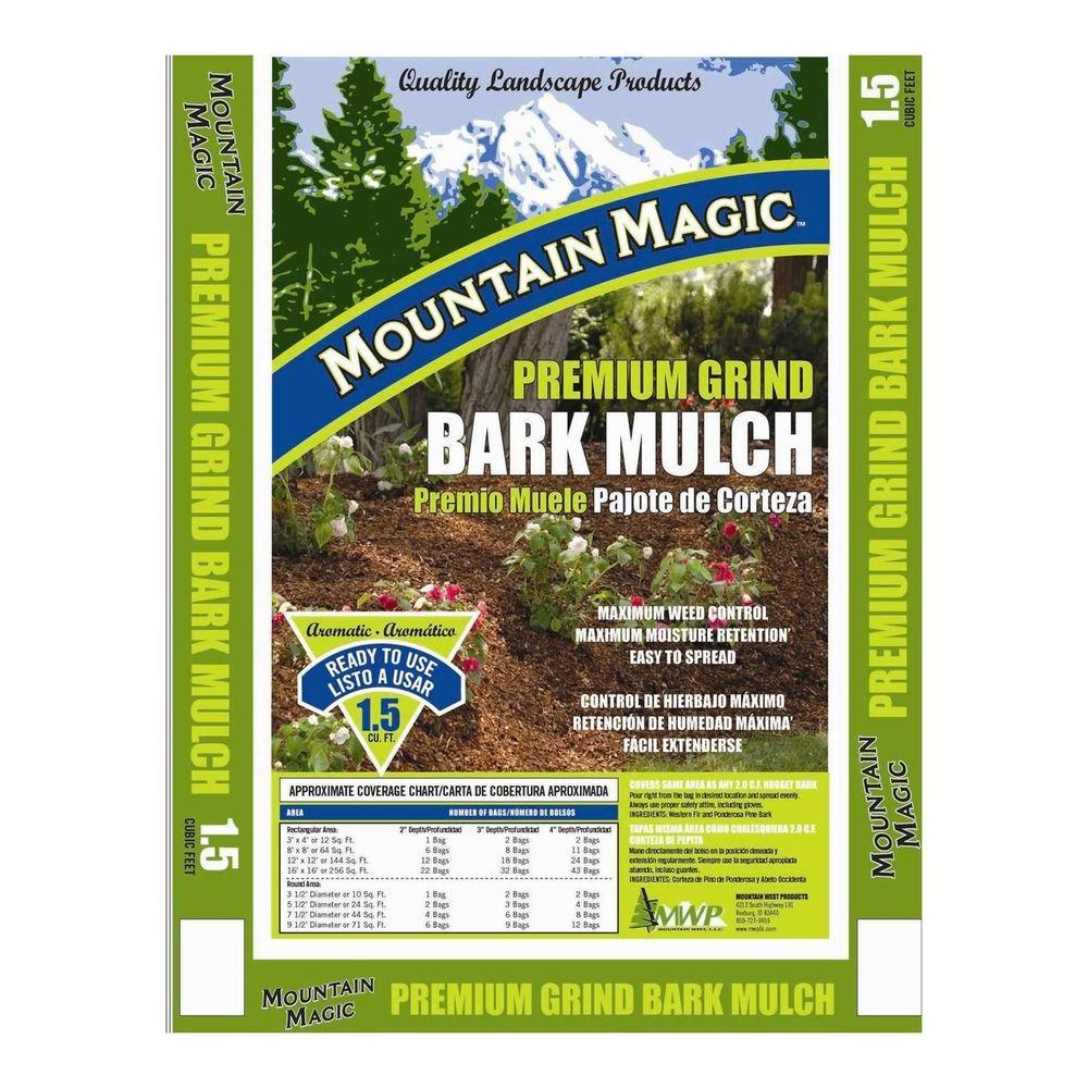 Mountain Magic 1.5 cu. ft. Premium Grind Bark Mulch