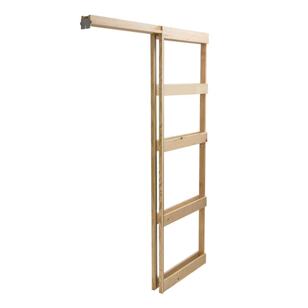Builder's Choice 28 in. Pocket Door Frame