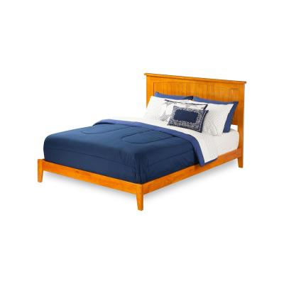 Nantucket King Traditional Bed in Caramel
