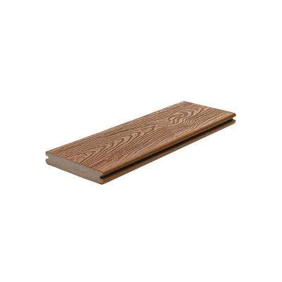 Transcend 1 in. x 5.5 in. x 1 ft. Tree House Composite Decking Board Sample