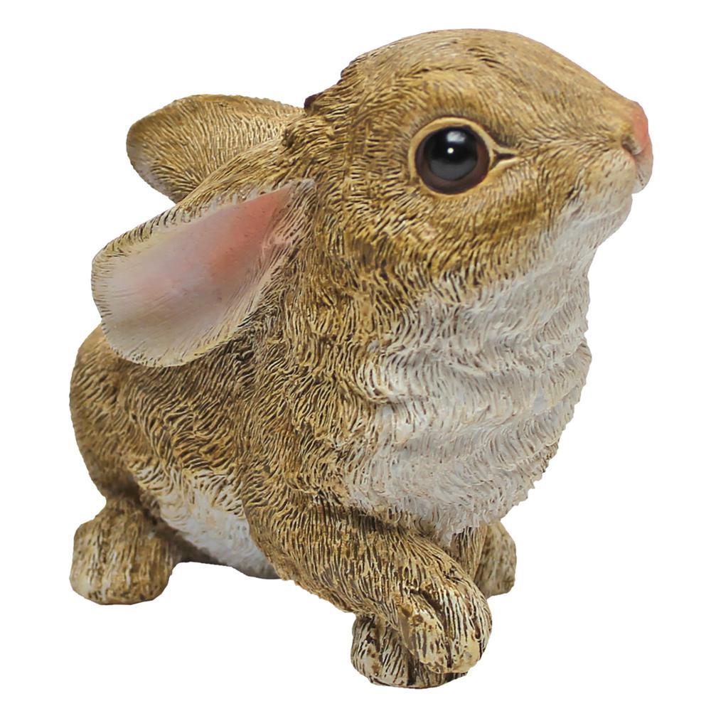 Design Toscano FU83243 Big Burly Bunny Rabbit Statue Oliver The Bunny Gray