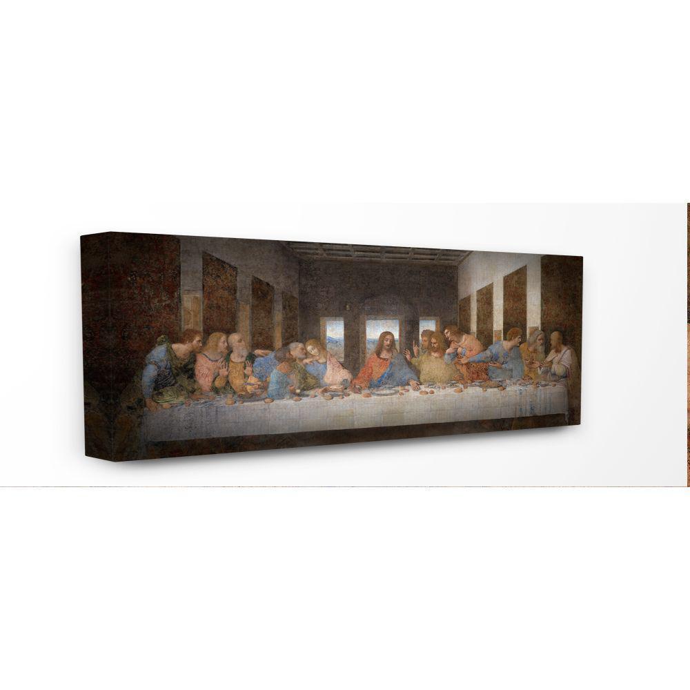 CANVAS OR PRINT WALL ART Leonardo da Vinci The Last Supper