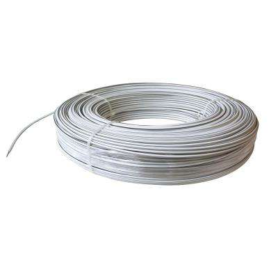 1320 ft. 12.5-Gauge White Safety Coated High Tensile Electric Fence Wire