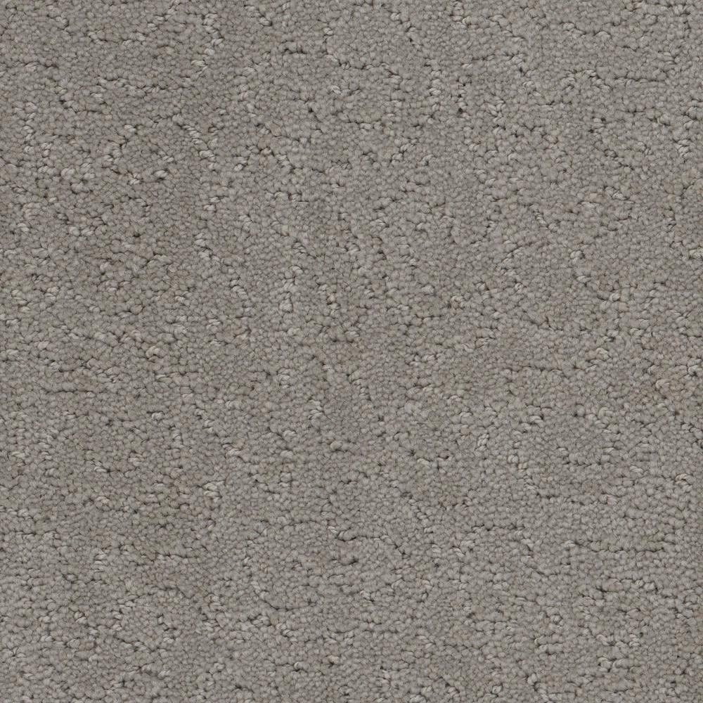 Carpet Sample - Adalida - Color Nickel Pattern 8 in. x 8 in.
