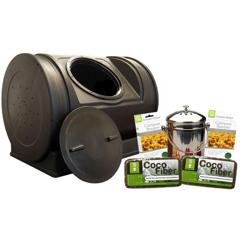 Good Ideas 7 cu. ft. Compost Wizard Starter Kit