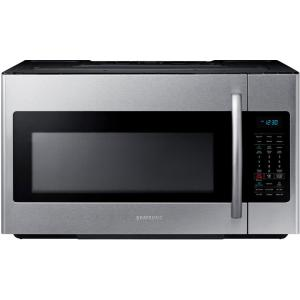 Samsung 30 inch W 1.8 cu. ft. Over the Range Microwave in Stainless Steel with Sensor Cooking by Samsung