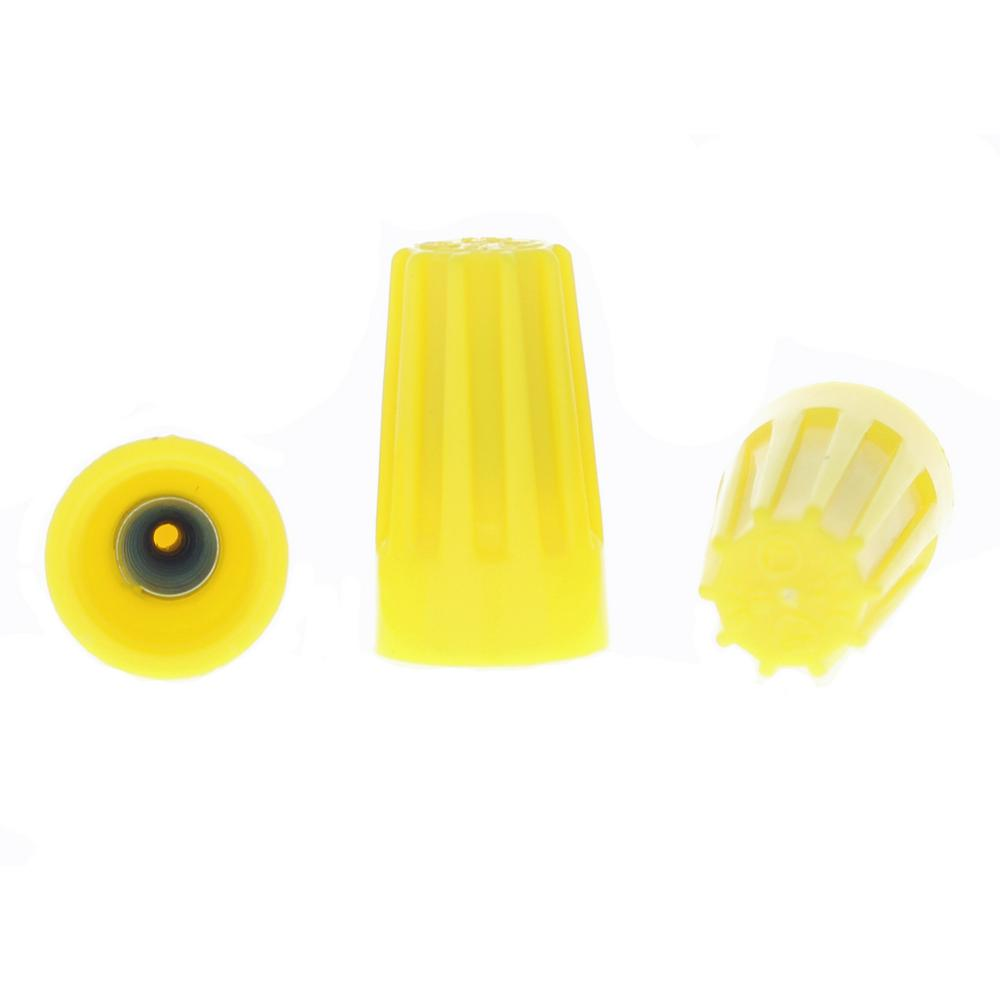 74B Yellow WIRE-NUT Wire Connectors (100 per Bag, Standard Package is