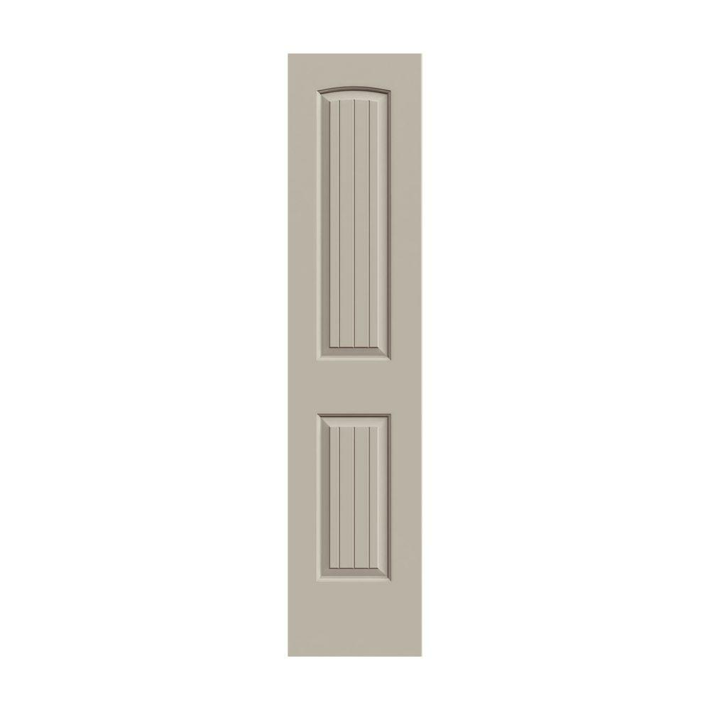 Jeld Wen 18 In X 80 In Santa Fe Desert Sand Painted Smooth Molded Composite Mdf Interior Door