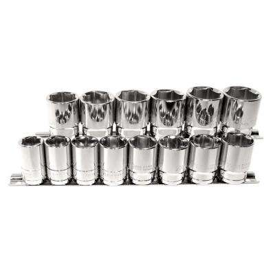 14-Piece 1/2 in. Drive Socket Set